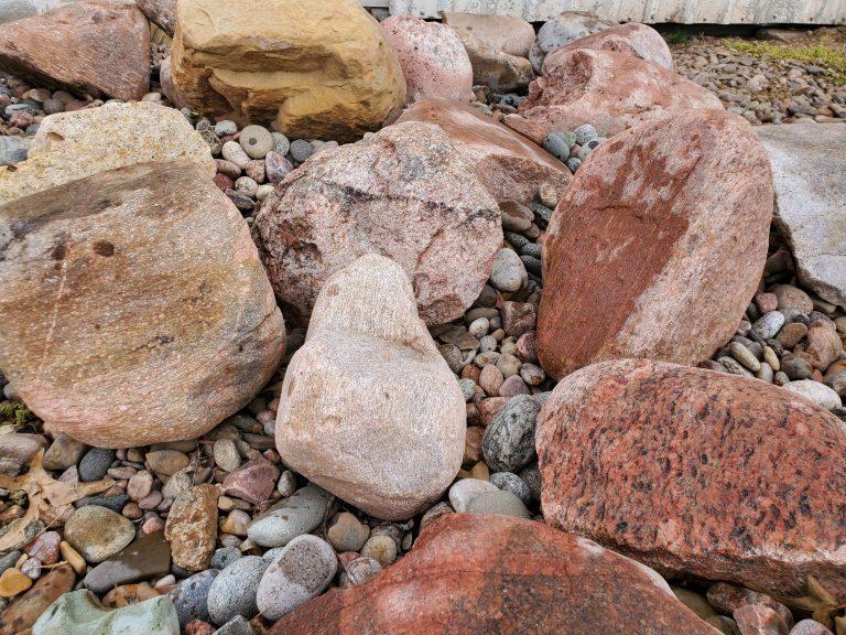Colorado rainbow boulders