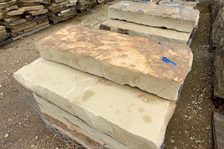 flagstone Multblend Sandstone Treads