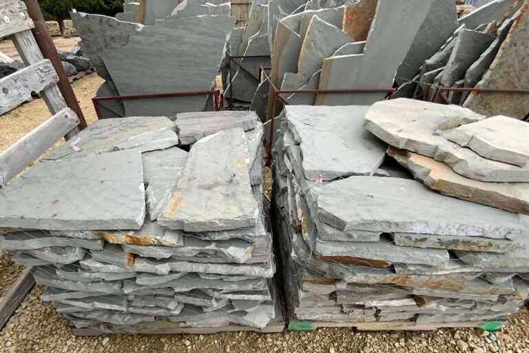 Blue gray flagstone