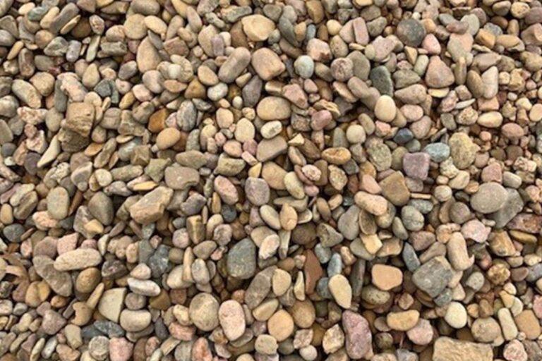 Kansas Small river rock