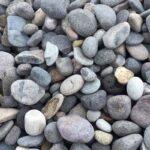 "Mesa Gray 1-2"" river rock"