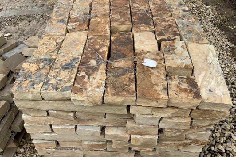 Chop stone pavers 3x6