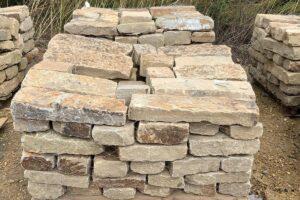 4x8 chop stone tumbled